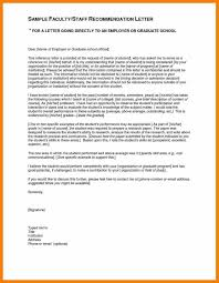 Nursing Letters Of Recommendation For Admission Letter Examples
