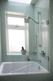 glass shower bathtub partitions