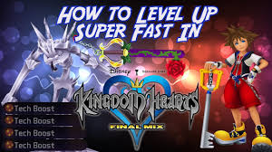 How To Level Up Super Fast In Kingdom Hearts Final Mix
