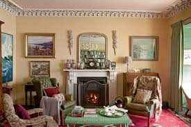 Period Living Room A Georgian Home Filled With Colour And Antiques Period Living