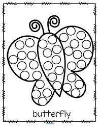 b3e0f0defa7ae83c578ac392bb20ad77 bingo dauber worksheets butterfly worksheets preschool 2926 best images about kindergarten free stuff on pinterest cut on theme and main idea worksheet