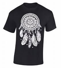 Dream Catchers Band Ray oak band 100 New Pure T Shirt Dream Catcher White Native 82