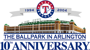 Texas Rangers Stadium Logo - American League (AL) - Chris Creamer's ...