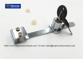 drawer lock showcase lock security cam lock display cabinet lock 140 furniture lock chrome plating