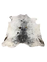 h5123 spotted brown white cowhide rug 45 sqft loading zoom
