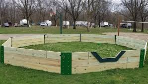 our new gaga ball pit is ready what is gaga a ball is a fast paced high energy sport played in an octagonal pit known as a safer version of