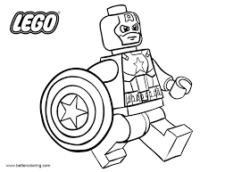 lego superheroes coloring pages free superhero coloring pages captain outline printable for kids and s lego marvel colouring pages free