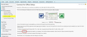 Configure Salesforce Com Mail Merge Button Ms Word Template