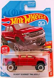 Amazon.com: Hot Wheels Mattel 2018 Hw Hot Truck - '19 Chevy ...