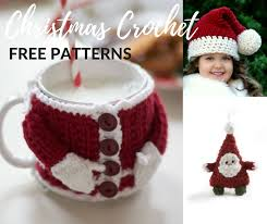 Free Christmas Crochet Patterns Amazing Free Father Christmas Crochet Patterns Crochet Now