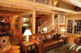 Cabin Themed Living Room