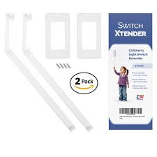 Kid Light Switch Extender Toddler Light Switch Extender 2 Pack For Decora Rocker Switch