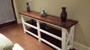 Diy Rustic Sofa Table Rustic Wood Console Table Diy The Beauty Of Rustic Console Table