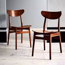 clic café walnut dining chair