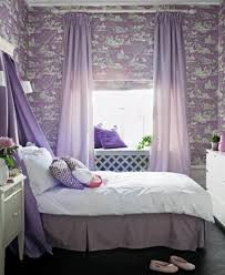 Small Purple Bedroom Small Purple Girls Bedroom Ideas With Custom Wall Myohomes