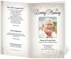 Funeral Programs Samples Impressive Free Funeral Program Sample 48 Funeral Pinterest Funeral