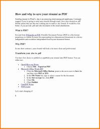 Pdf Cover Letter Portable Document Format Pdf Resumes Dragondekomodo Resume