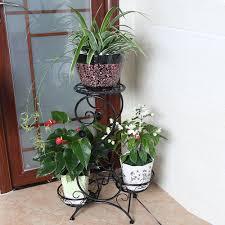 65*32*24cm big size european balcony fower pots shelf garden flower stands  holder flower pergolas metal iron flower shelf-in Flower Pots & Planters  from ...