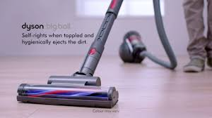 the dyson big ball vacuum is perfect for every floor type