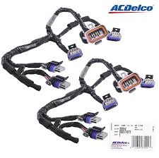 new set acdelco of 2 ignition coil lead wire 355w 89017477 new set acdelco of 2 ignition coil lead wire 355w 89017477 harness