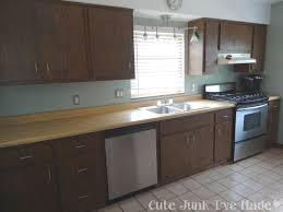 image permalink painting laminate cabinets before and after