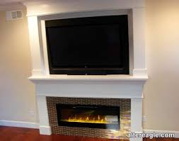 sonoma overmantel with electric insert