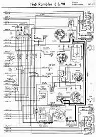 Wiring diagrams of 1965 rambler 6 and v8 classic and ambassador part 2