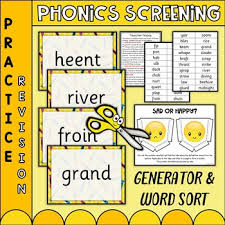 Order hard copies of our phonics. Phonics Screening Worksheets Teaching Resources Tpt