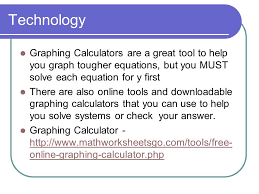 technology graphing calculators are a great tool to help you graph tougher equations but you