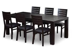 high back fabric dining chairs traditional dining room furniture wood dining table with black chairs