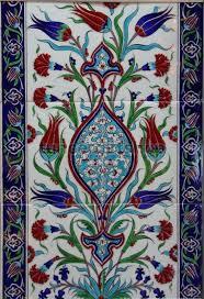turkish ceramic tiles handmade fl design white 60 x 40 cm 20x20 cm 6 pcs