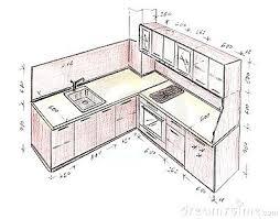 interior design sketches kitchen. Drawing Interior Design Sketches Kitchen Part Online . S