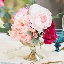 carraway gold mercury glass flower vase4 25 tall x 5 25 wide x 7 5