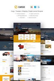 Cargo Web Design Cargo Transport Shipping Freight Joomla Template
