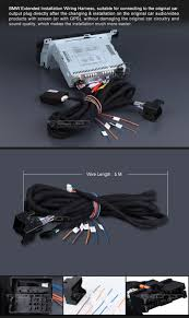 bmw e46 e39 40 pin extended installation wiring harness a0567 general
