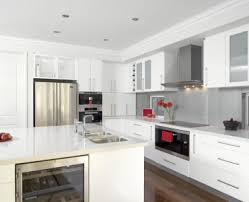 T S M L F · Kitchen Kitchen Designs With White Appliances ...