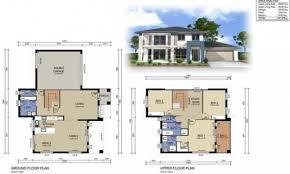 two story house floor plans design inside