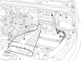 kia optima removal and installation starter repair procedures remove the air duct b
