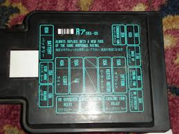 fs jdm eg civic 92 95 fuse box cover (engine bay) $40 shipped Eg Fuse Box Eg Fuse Box #1 eg civic fuse box