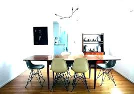 chandelier height over dining table standard