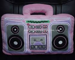 pillow radio. recorder pillow radio/ cutie cushion radio from china i