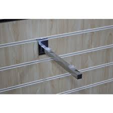 details slatwall glass shelf bracket 250mm