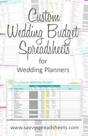 wedding budget template for excel branded wedding budgets wedding wedding planning budget wedding