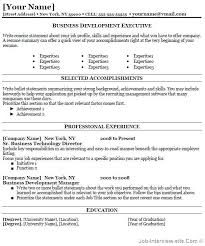 Free Business Resume Template Magnificent How To Include Professional Development On Resume Yelom