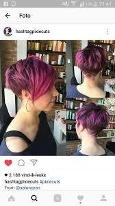 Pink Pixie Cut Womens Hair In 2019 Kapsels Korte Kapsels En
