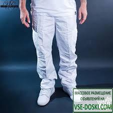 <b>Брюки URBAN CLASSICS Combat</b> Cargo Pants (White, 38) / ВСЕ ...