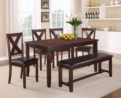 crown mark clara dinette table and chair set