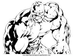 Disegni Da Colorare Hulk Colorare