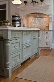 painted kitchen islandsHow to Update a BuilderGrade Kitchen Island With Trim and Paint