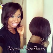 Women Hairstyle Bob Hairstyles With Weave Quick For Black Women